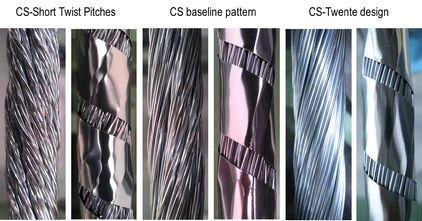 CS cable patterns CSIO1 & 2