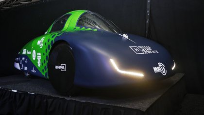 Green Team Twente demos the latest fuel-efficient hydrogen car