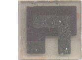 Picture of a O2-sensor based on 8YSZ thin film.