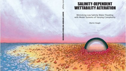 Promotie Martin Haagh | Salinity-dependent wettability alteration - Mimicking low salinity water flooding with model systems of varying complexity