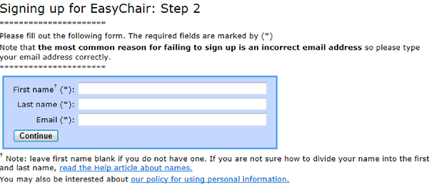 Instructions for uploading abstracts and extended abstracts