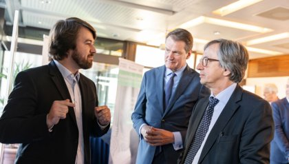 German and Dutch ambassador visit UT campus as part of Euregio working visit