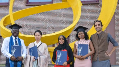 MSc graduation 2020 on 8 July 2020