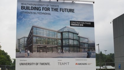 Contracts signed for construction Technohal, University of Twente
