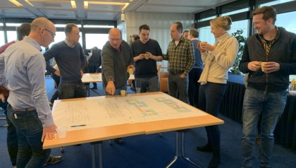 Report: workshop 'Mapping the organization in the new building'