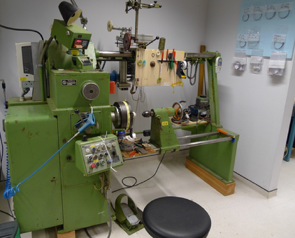 Photo of lathe