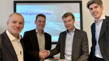 University of Twente and Strukton Rail are improving rail availability and maintenance