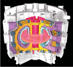 Artist view of ITER magnet system
