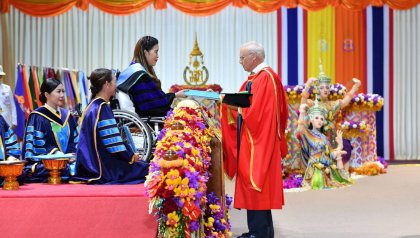 Honorary Doctoral degree from PSU, Thailand, for Prof. Dr. J.W.M. Noordermeer