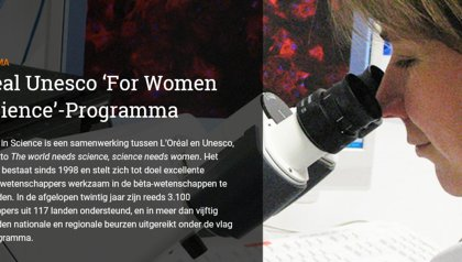 The World needs Science, Science needs Women