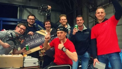 "Universiteit Twente en Clear Flight Solutions winnaars ""anti-drone-competitie"" DroneClash"