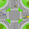 Optimal design of intersections in an urban transport network